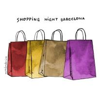 shopping night bcn miredondemire